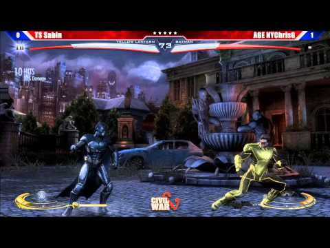 Injustice: Gods Among Us - Top 8 TS Sabin vs AGE NYChrisG - Civil War V Tournament