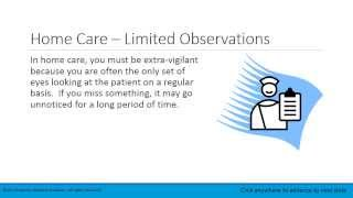 Lesson 1.5   Clinical Care vs  Home Care