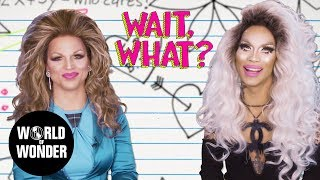 WAIT, WHAT? Grammar with Derrick Barry and Kimora Blac