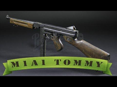 Пистолет-пулемет M1A1 Tommy. Оружие Второй Мировой
