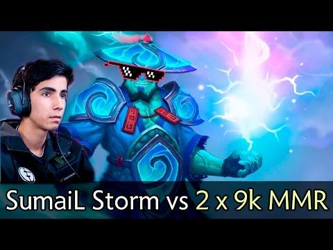 SumaiL Storm vs 2x 9000 MMR — MDL Finals EG vs Newbee