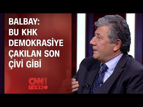 Mustafa Balbay: Bu KHK demokrasiye çakılan son çivi gibi