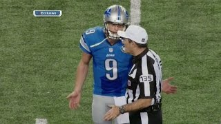 Listen to Matthew Stafford Mic'd Up for Controversial Pass Interference Call