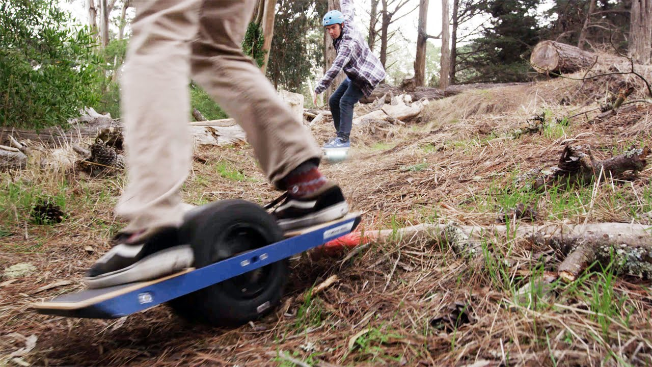 Onewheel :: the Revolutionary Electric Boardsport goes from the lab to the dirt. The 2000W brushless hub motor, lithium batteries, dynamic stabilization and ...