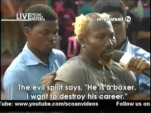 T.b. Joshua's Church Delivers Ayitey Powers Of Demonic Possession video