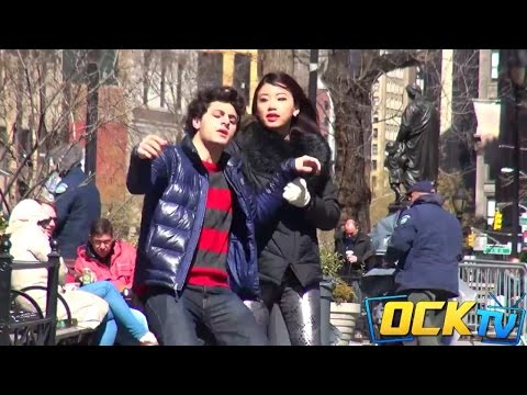 Physically Abused Boyfriend Hits Girlfriend Back In Public Experiment! video
