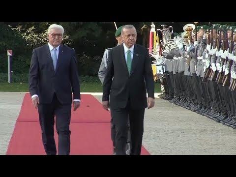 Empfang von Recep Tayyip Erdogan durch Frank-Walter Steinmeier am 28.09.18