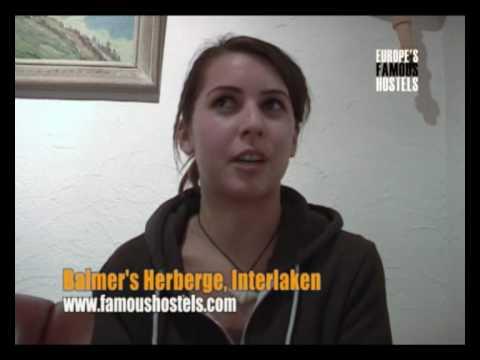 Video of Balmer's Herberge - Best Youth Hostel in Interlaken, Switzerland