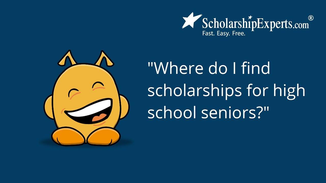 essays for high school students scholarships for high school seniors ...