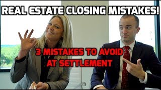 Closing Day When Buying a House   3 MISTAKES to Avoid When Closing on a Home