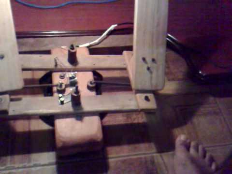 Home made rudder pedal - DIY