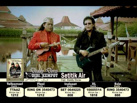 Deddy Dores & Didi Kempot [hq]  Setitik Air  Cipt. Deddy Dores video