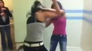 Tough girl fight