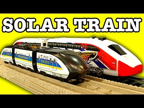 $10 Solar Bullet Train Ho Power Trains Problems & Sad Thomas Tank Toy Story video