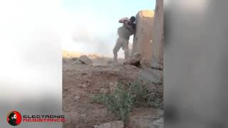 incredible salvation- Syrian warior - Isis Sniper