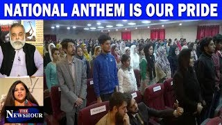 Olympians Take On The Anthem Haters I The Newshour Debate(26th November)