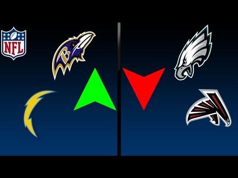 NFL WEEK 14 2017 POWER RANKINGS -- NEW NUMBER ONE!!!
