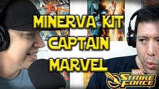 Minerva Kit & Captain Marvel Incoming - Carnage Controversy - Marvel Strike Force - MSF