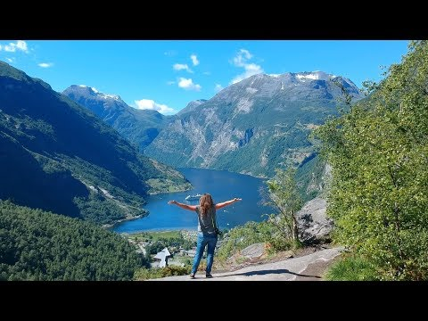 Zum Geirangerfjord in Norwegen mit dem Camper・Gudbrandsjuvet・V2og #53