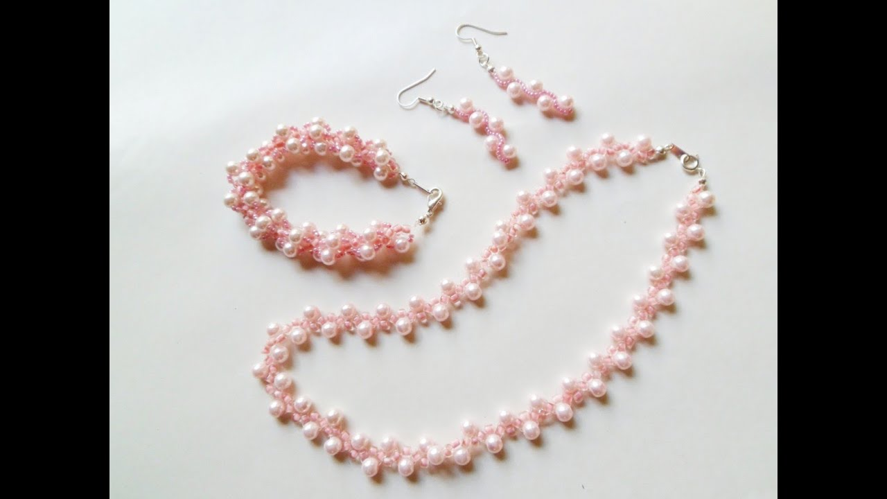 How to Make Accessories Using Beads Video--how to Make Beaded