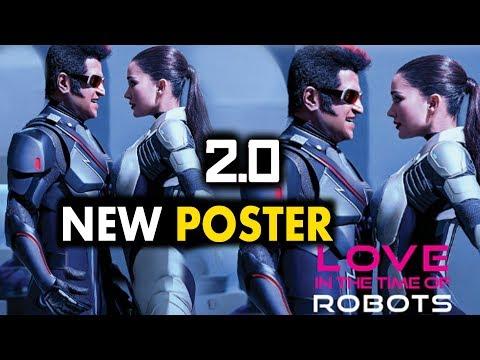 पोस्टर में दिखा Chitti और Amy Jackson का रोमांस। 2.0 New Poster thumbnail