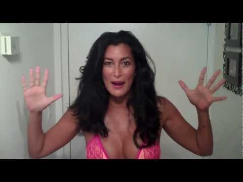 Hurricaine Issac Hits South Beach Bikini Weather Reporter