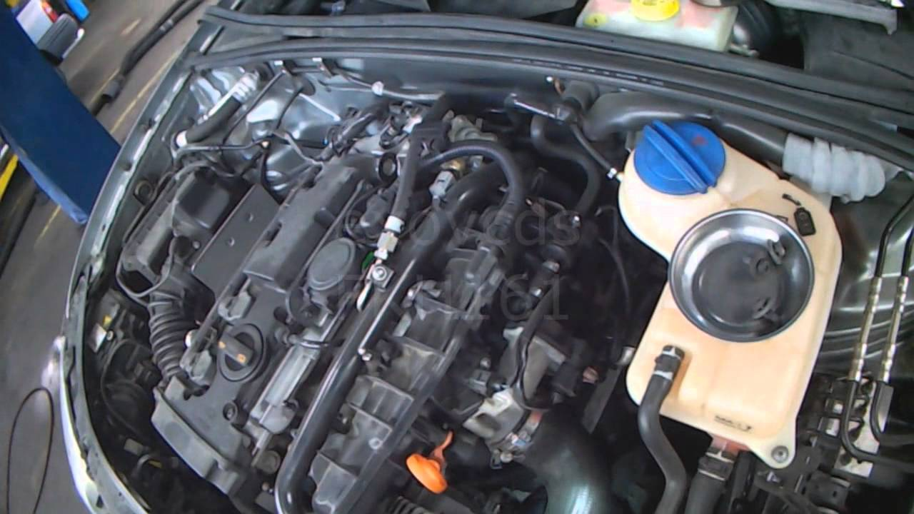 Audi B7: BWT 2.0LT Timing Belt & Water Pump Removal - YouTube