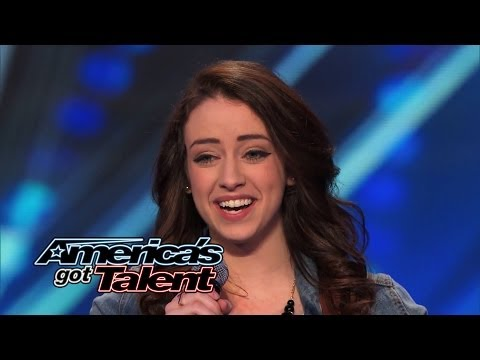 Anna Clendening: Nervous Singer Delivers Stunning hallelujah Cover - America's Got Talent 2014 video