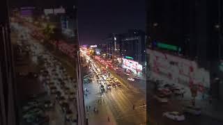 Night life Dubai... time lapse