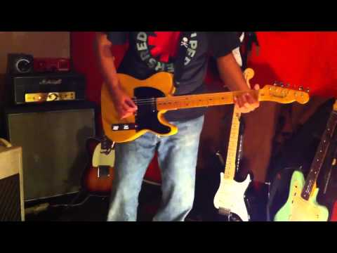 Fender avri 52 tele telecaster USA Music Videos