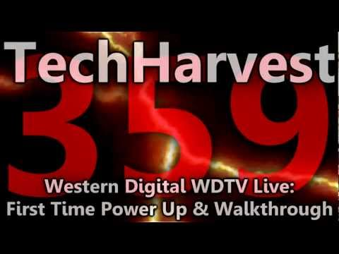 Western Digital WDTV Live Streaming Media Player: First Time Power Up & Walkthrough