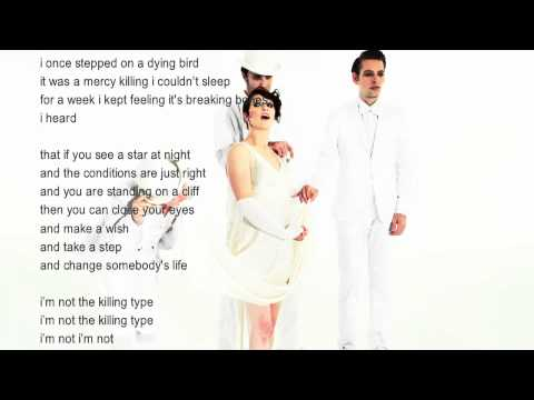 Amanda Palmer & The Grand Theft Orchestra - Killing Type (Lyric Video)