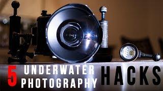 5 Underwater Photo HACKS in 120 SECONDS!!