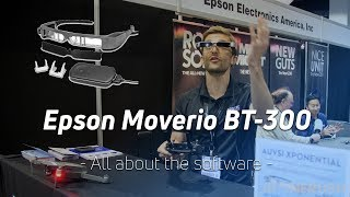 What's new with Epson Moverio BT300 AR glasses at AUVSI Xponential