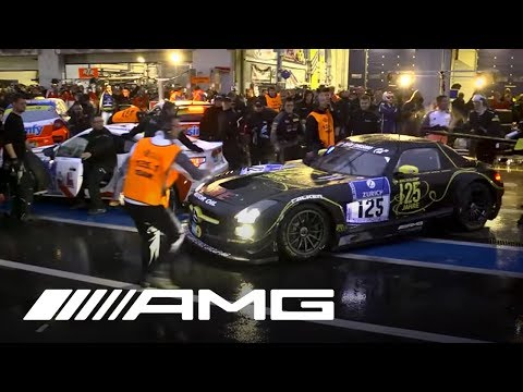 24h race Nürburgring – Clip 3: Night time at the Nurburgring