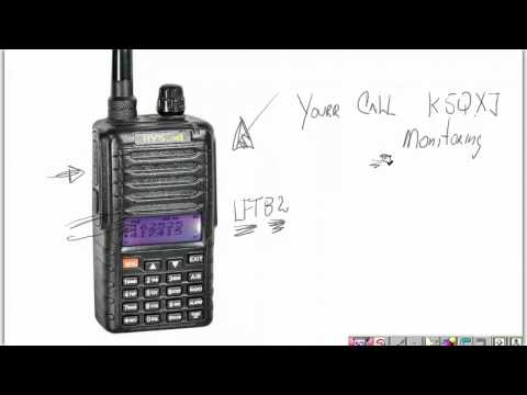 My ham radio repeater use
