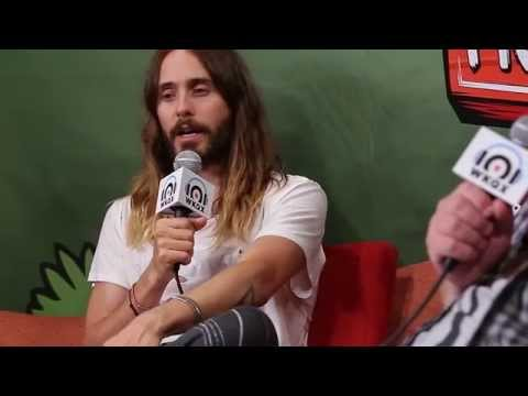 Jared Leto of Thirty Seconds To Mars - Interview with 101WKQX - PIQNIQ 2014