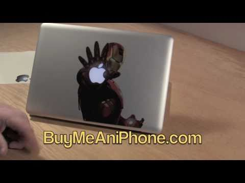 MacBook Pro 2011 Decal istickr