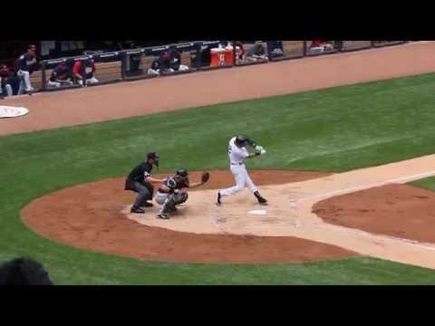 Derek Jeter Double - Minnesota Twins at Yankees Stadium - May 31, 2014