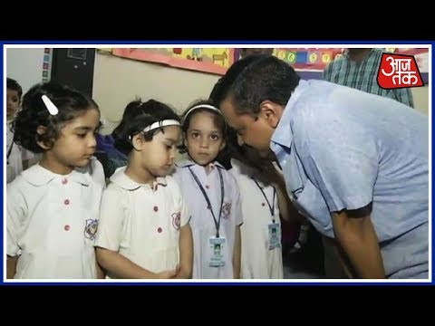 Kejriwal, Sisodia Meet Rabea Schoolgirls Locked Up In Basement; Promises Swift Action