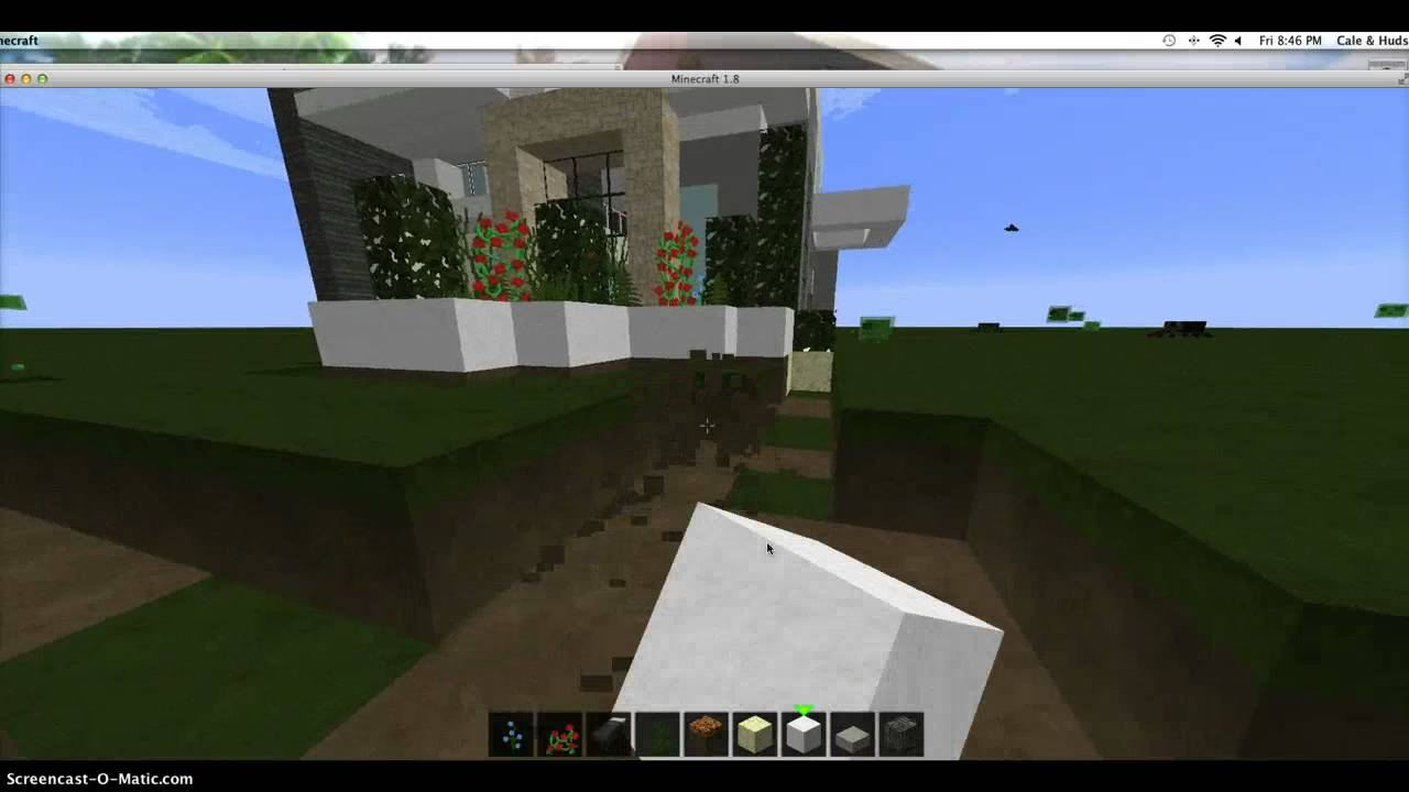 Modern house 1 part 4 youtube for Keralis modern house 9 part 1