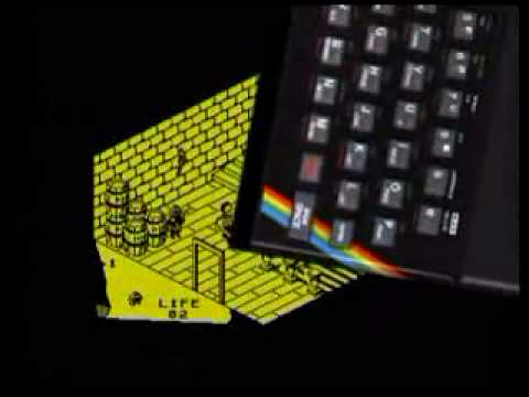 Sinclair ZX Spectrum Game Clips + Music!