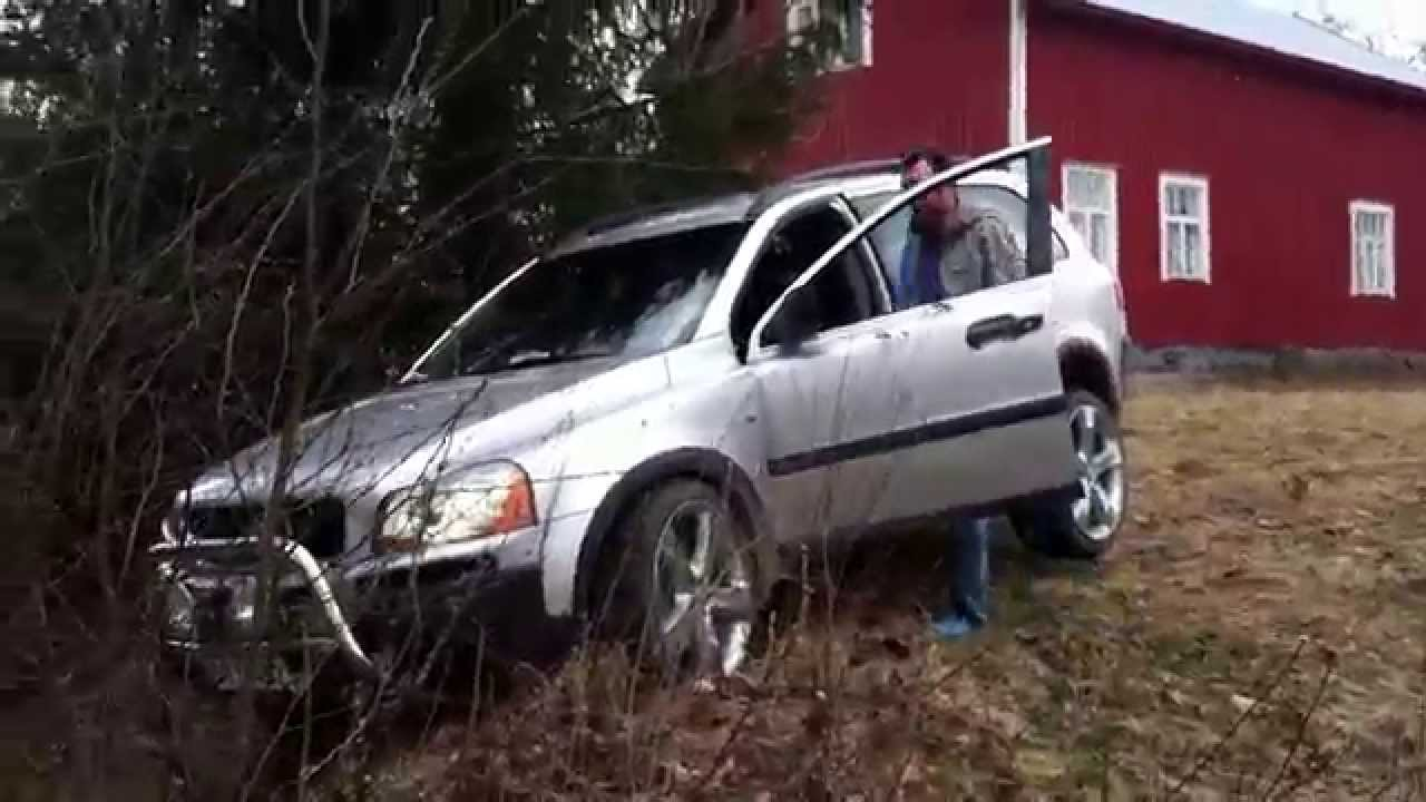 Volvo Xc90 2 5t Off Road Suomi 2012 Youtube