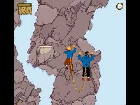 Soluce Tintin au Tibet partie 6/9 - Escalade avec Le capitaine Haddock