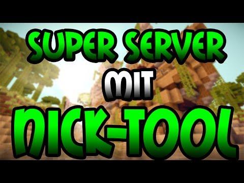 GEILER SERVER + NICK SYSTEM - Minecraft Server Vorstellung 1.8 | Deutsch/German