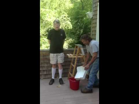 Stephen King ALS Ice Bucket Challenge