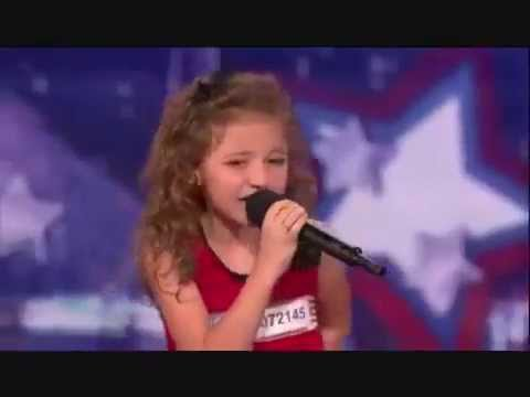 Avery And The Calico Hearts - baby Justin Bieber - America's Got Talent video