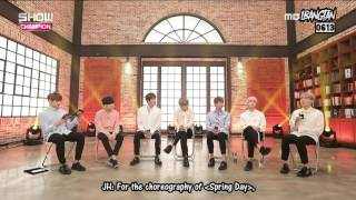 [ENG SUBS] 170308 BTS Show Champion Interview