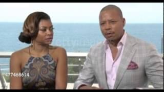 Taraji P Henson & Terrence Howard Monte Carlo TV Festival 2015