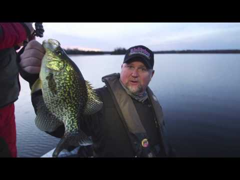 Follow the Leader for Cold Water Crappie - Dave Mercer's Facts of Fishing THE SHOW
